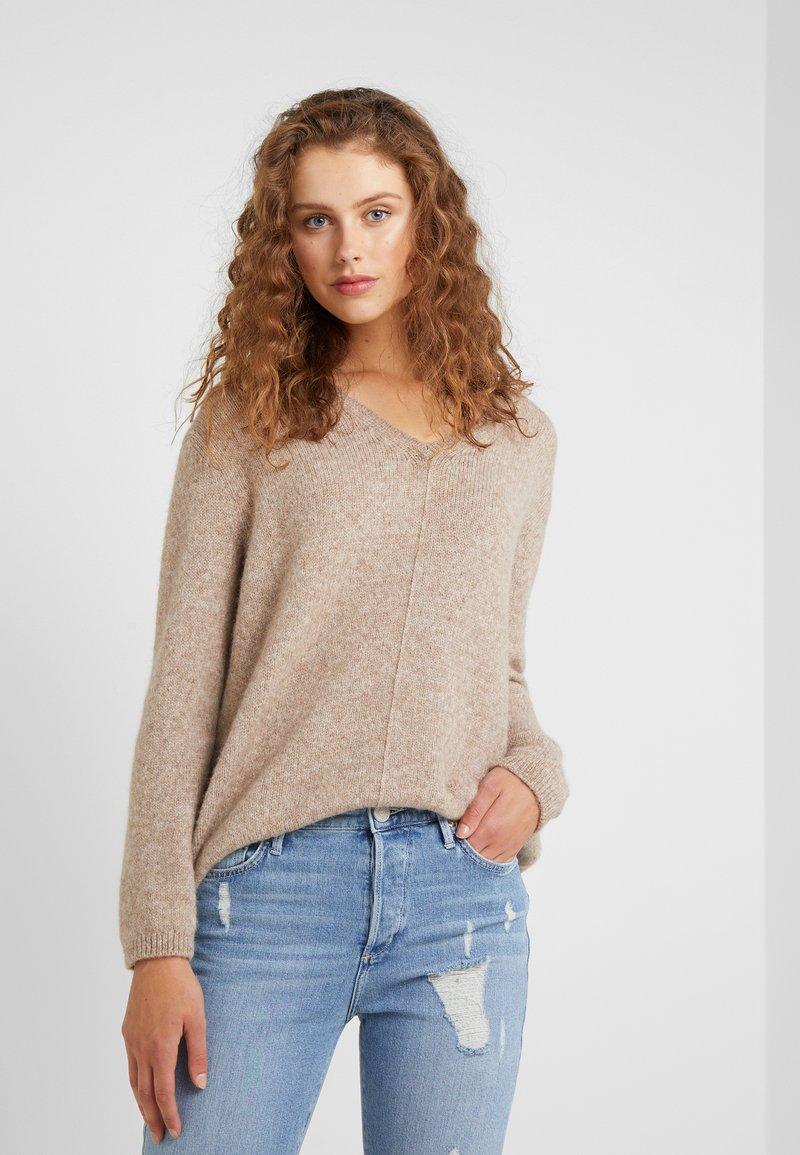 CLOSED - Pullover - light brown