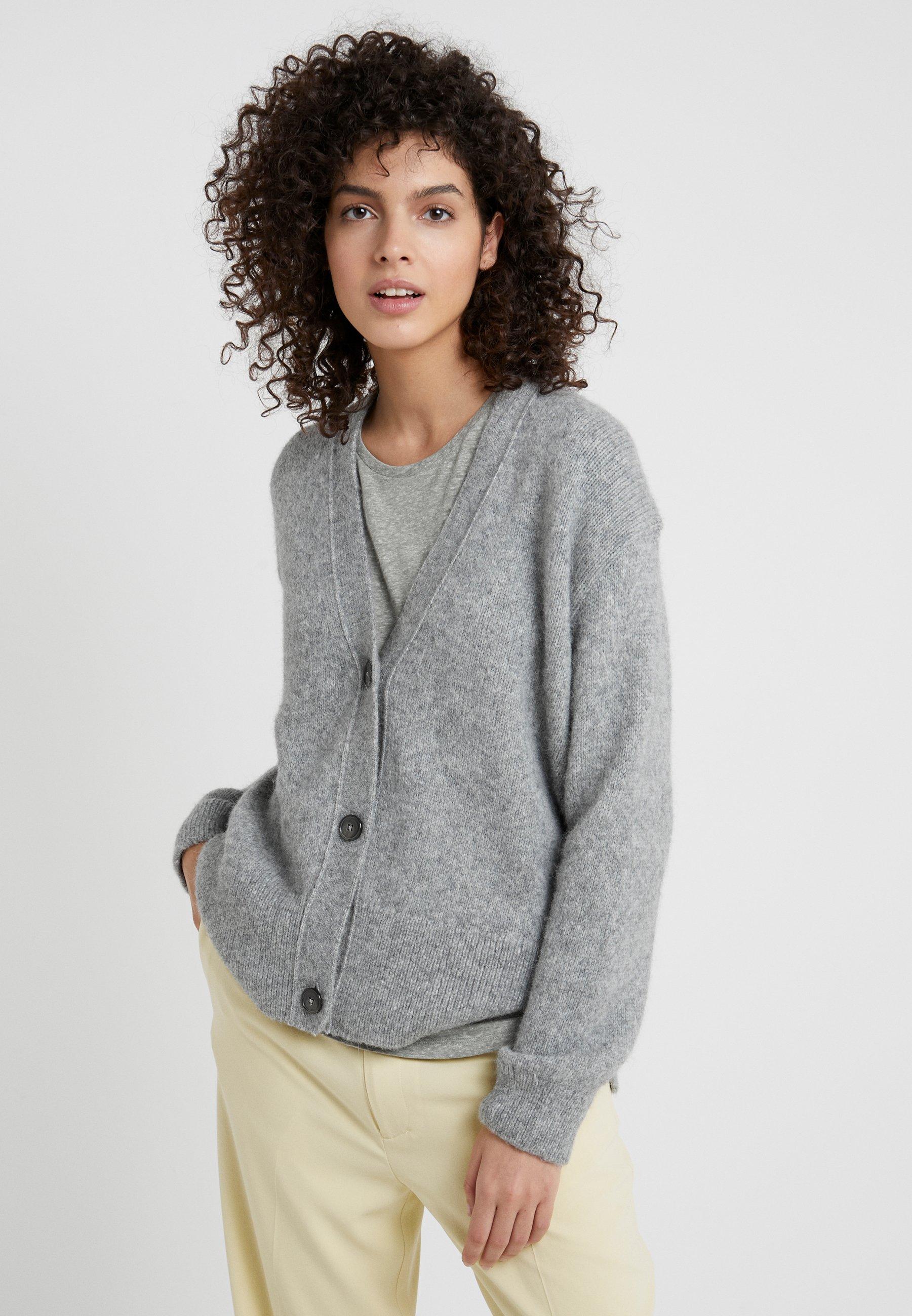 CLOSED Cardigan grey melange