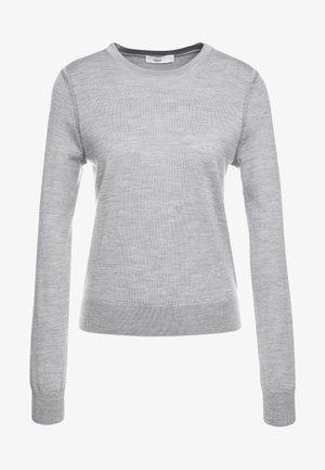 Strickpullover - grey heather melange