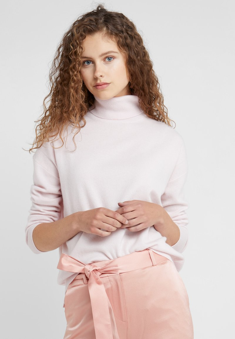 CLOSED - Strikpullover /Striktrøjer - jasmine pink