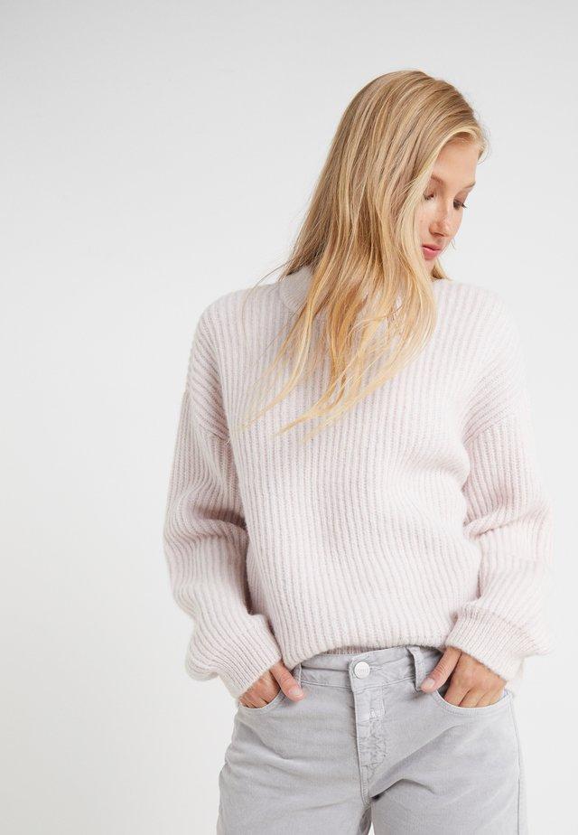 Stickad tröja - jasmine pink