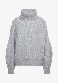 CLOSED - Strickpullover - grey heather melange - 4