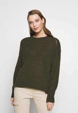 Pullover - shadow green