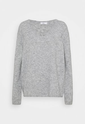 WOMEN´S - Jumper - light grey melange