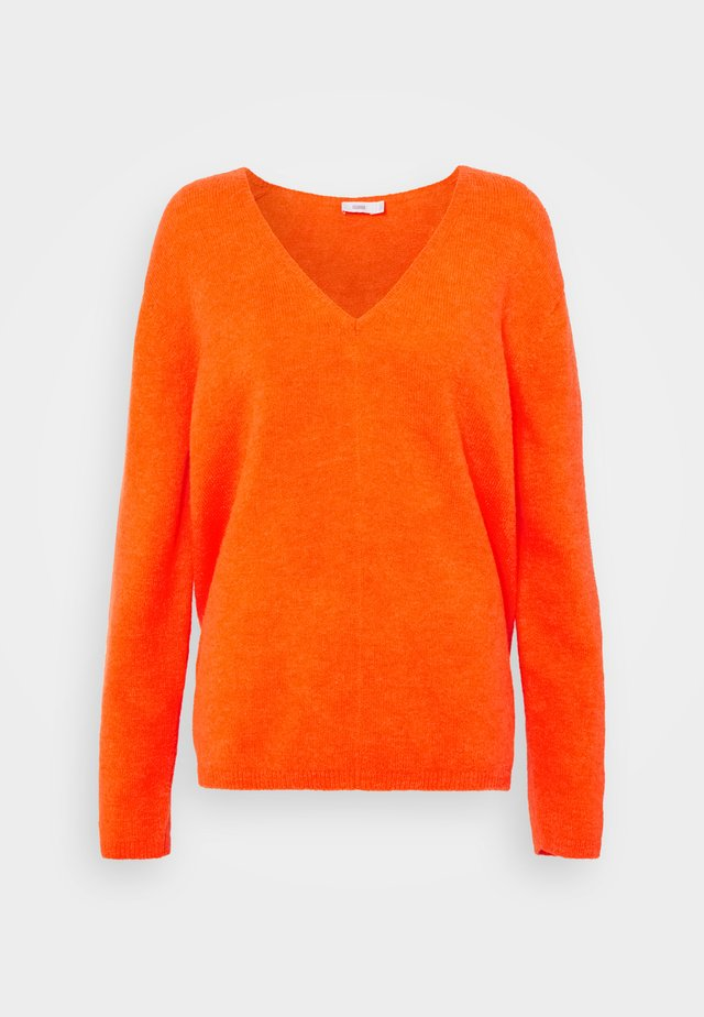 WOMEN´S - Sweter - strong coral