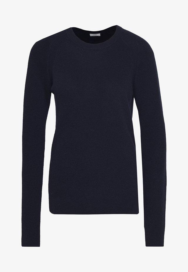 WOMEN - Stickad tröja - dark night