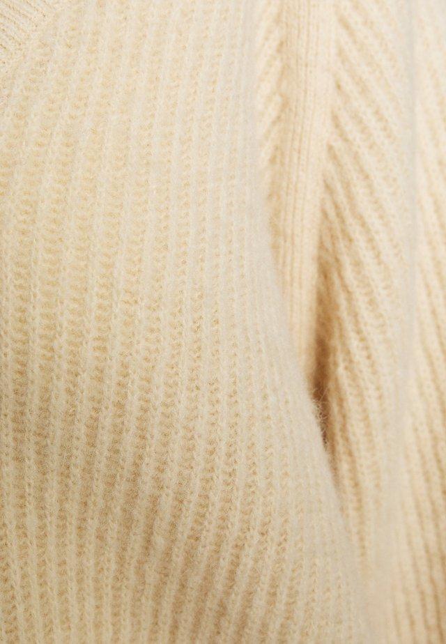 WOMEN - Stickad tröja - white