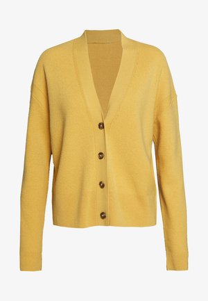 Strickjacke - butterscotch