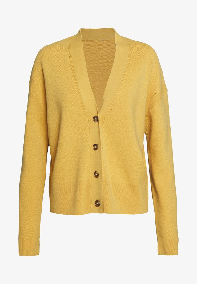 Cardigan - butterscotch