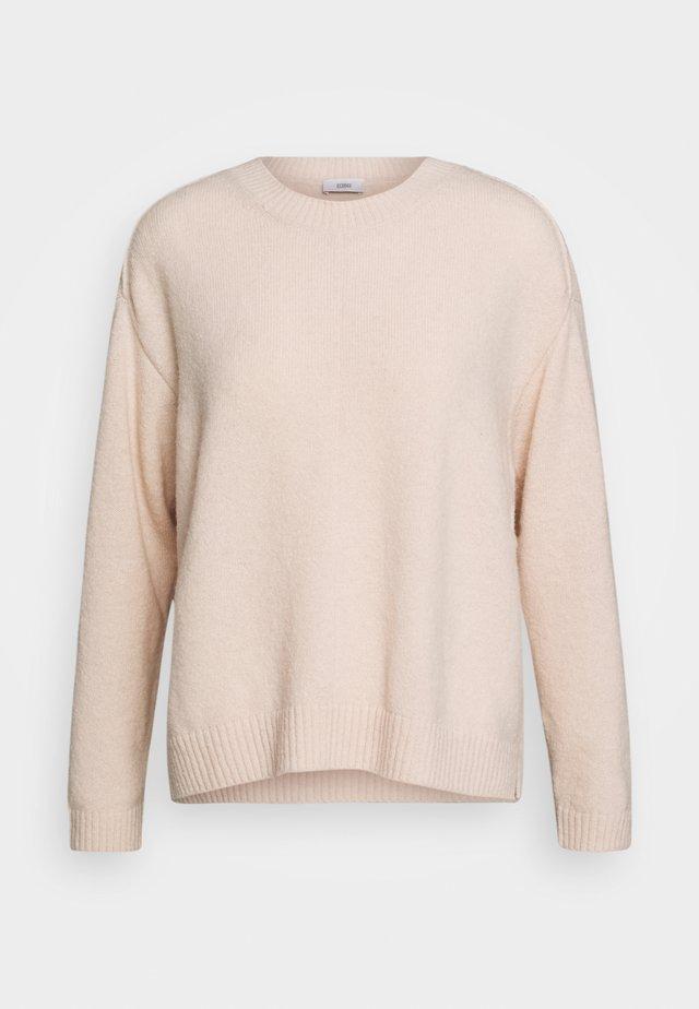 WOMEN - Stickad tröja - rose quartz