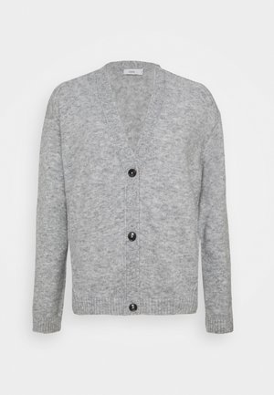 Strikjakke /Cardigans - light grey melange