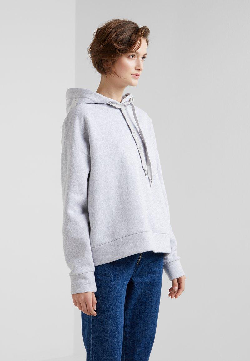 CLOSED - Hoodie - light grey melange