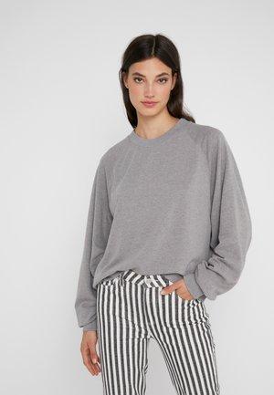 Mikina - light grey melange