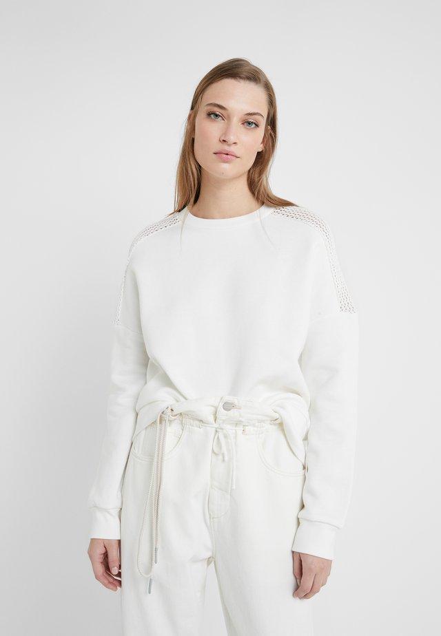 Sweatshirt - ivory