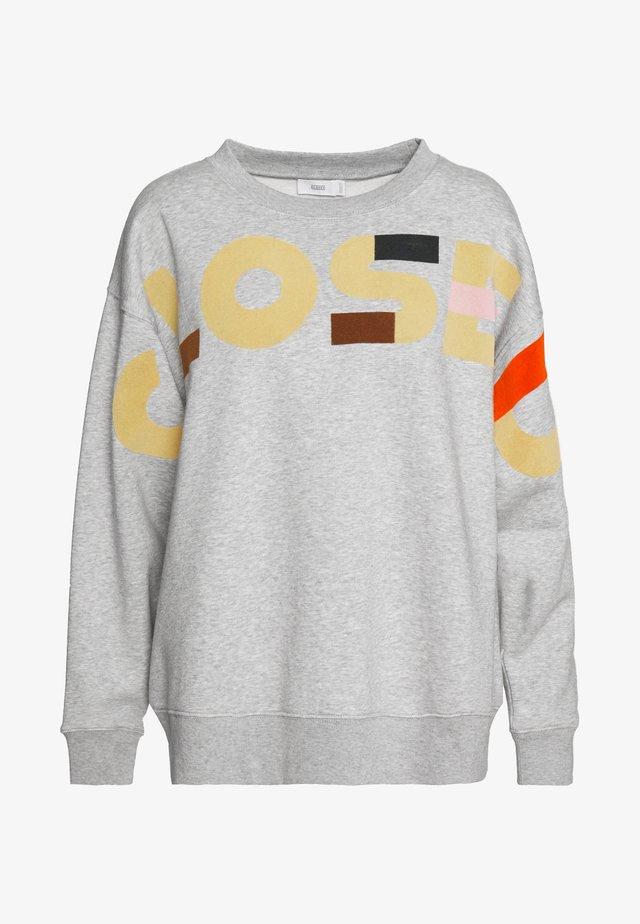 WOMEN - Sweater - light grey melange