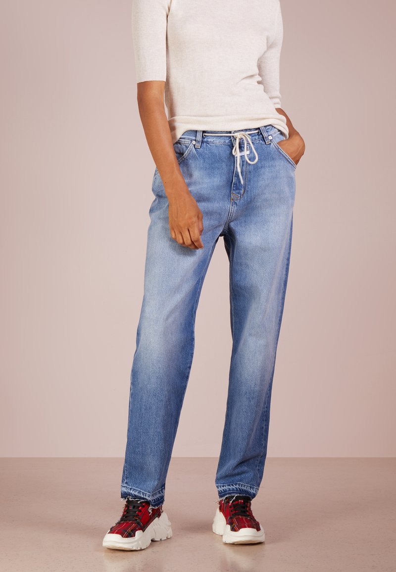 CLOSED - LUCA - Jeans Relaxed Fit - easy blue with cord