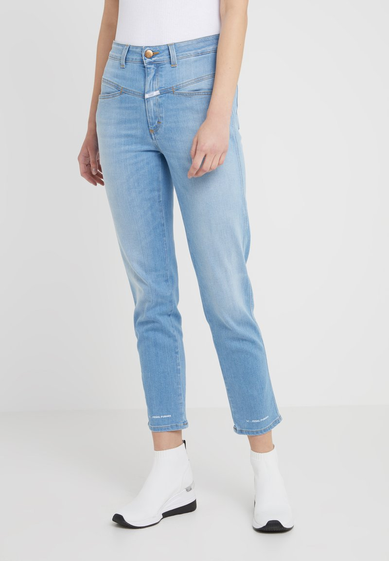 CLOSED - PEDAL PUSHER - Jeans Tapered Fit - light blue