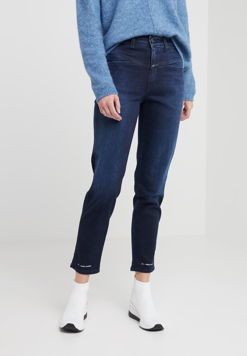 CLOSED - PEDAL PUSHER - Jeans Tapered Fit - dark blue