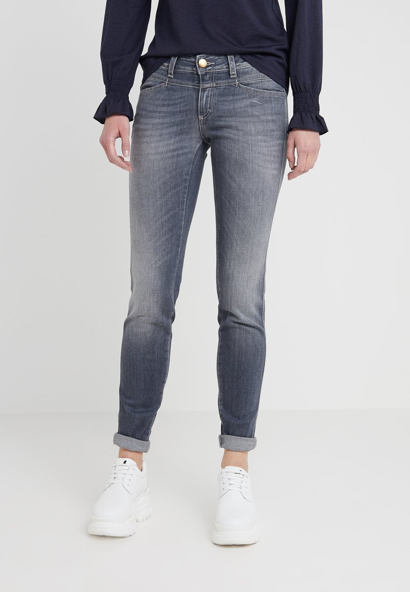 CLOSED - PEDAL STAR - Slim fit jeans - mid grey