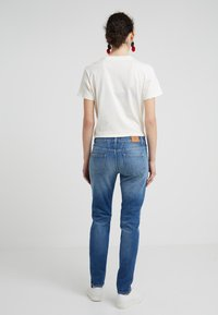 CLOSED - BAKER LONG - Jean slim - mid blue - 2