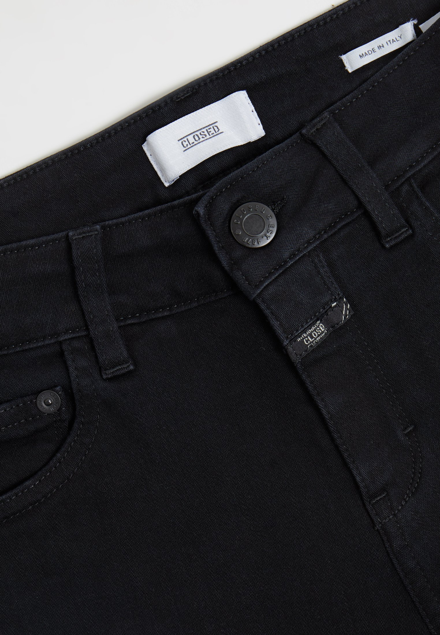 CLOSED BAKER - Jeansy Slim Fit - black