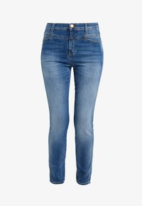 CLOSED - SKINNY PUSHER - Skinny džíny - mid blue - 3
