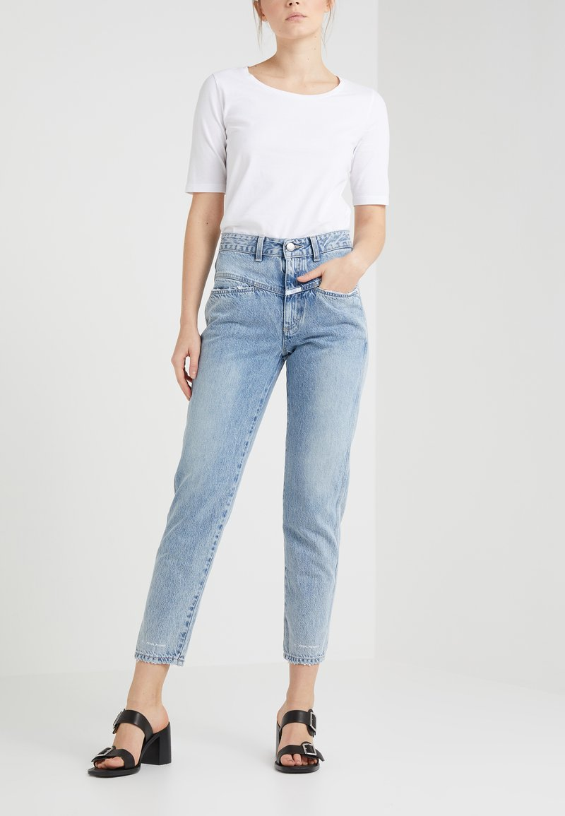 CLOSED - PEDAL PUSHER - Zúžené džíny - mid blue