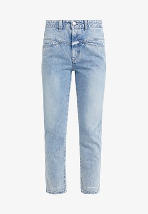PEDAL PUSHER - Jeans Tapered Fit - mid blue