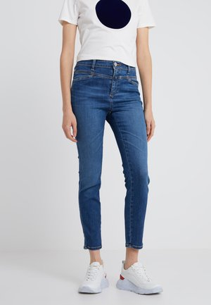 SKINNY PUSHER - Jeans Skinny - mid blue