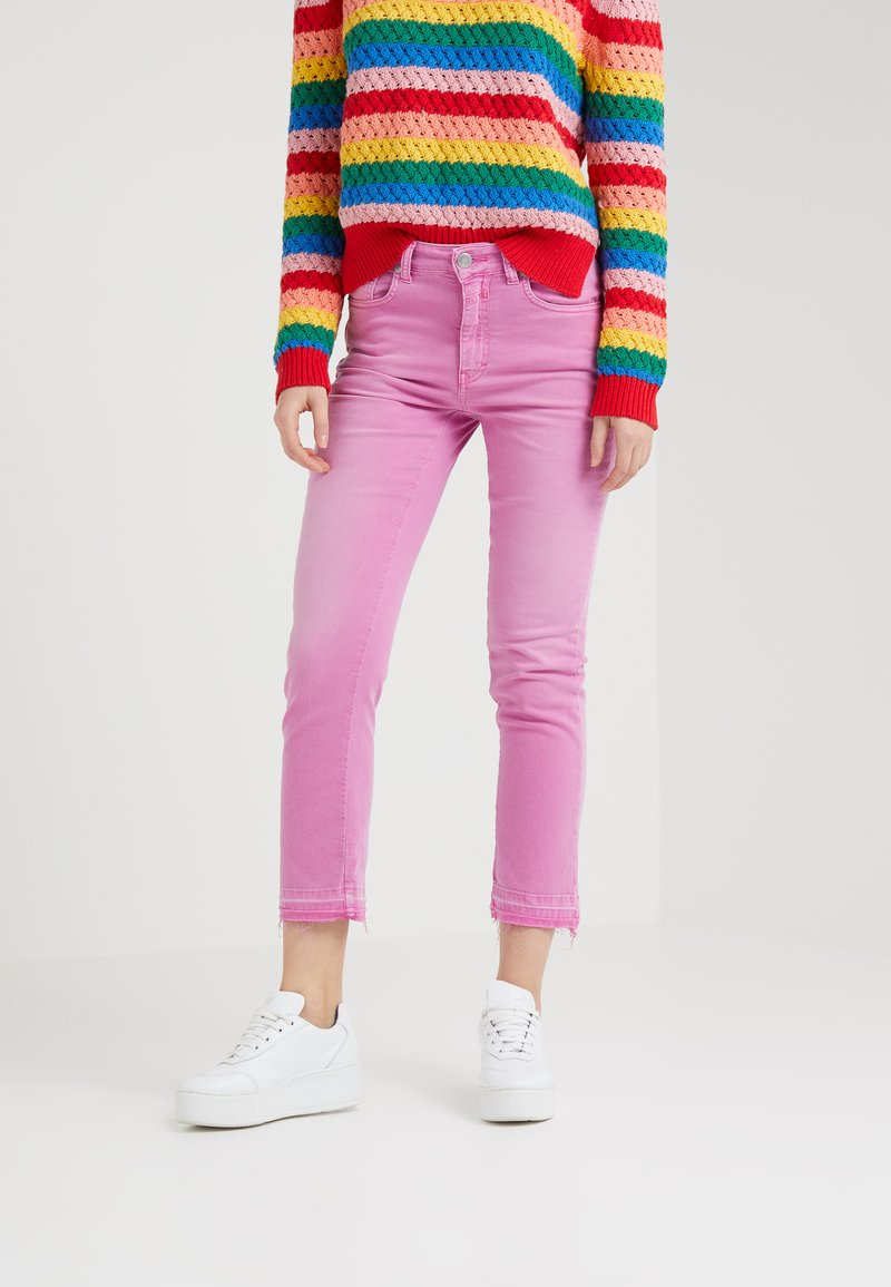 CLOSED - GLOW RELAXED FIT - Slim fit jeans - magenta