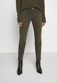 CLOSED - BAKER - Jean slim - shadow green - 0