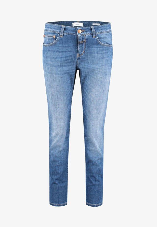 BAKER SLIM FIT - Jean slim - stoned blue