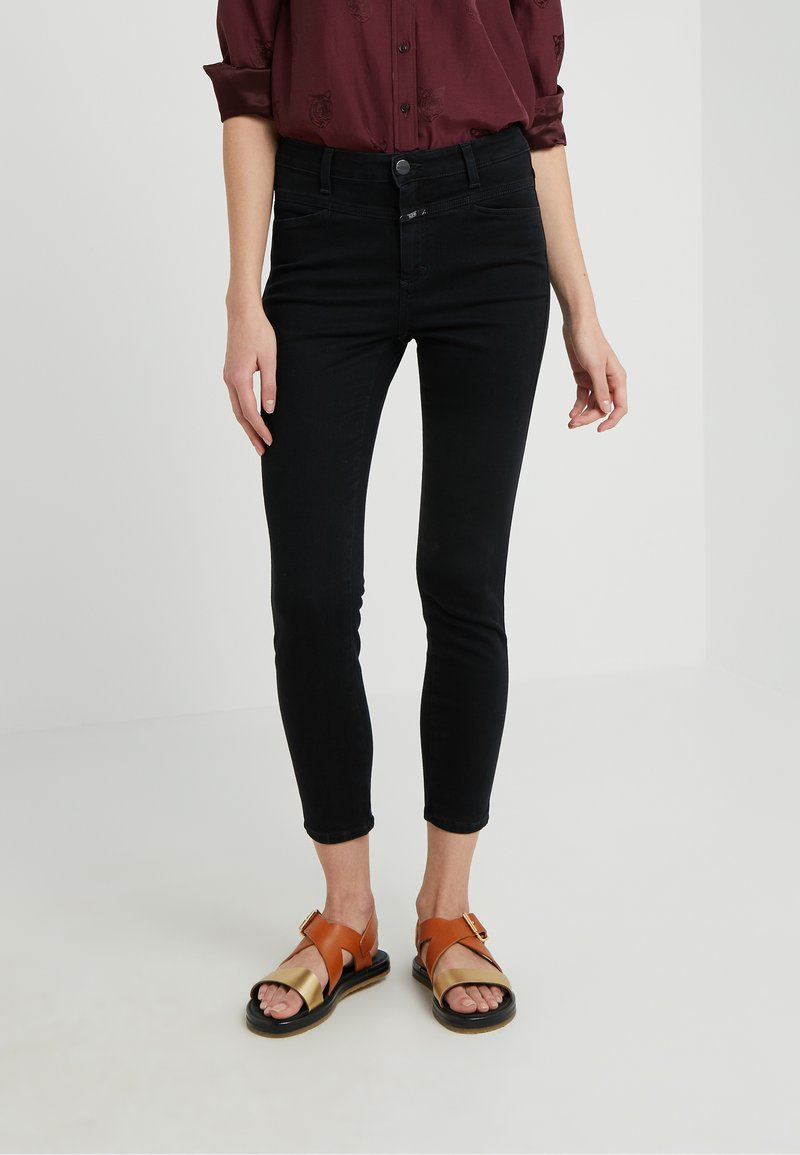 CLOSED - SKINNY PUSHER - Jeans Skinny Fit - black