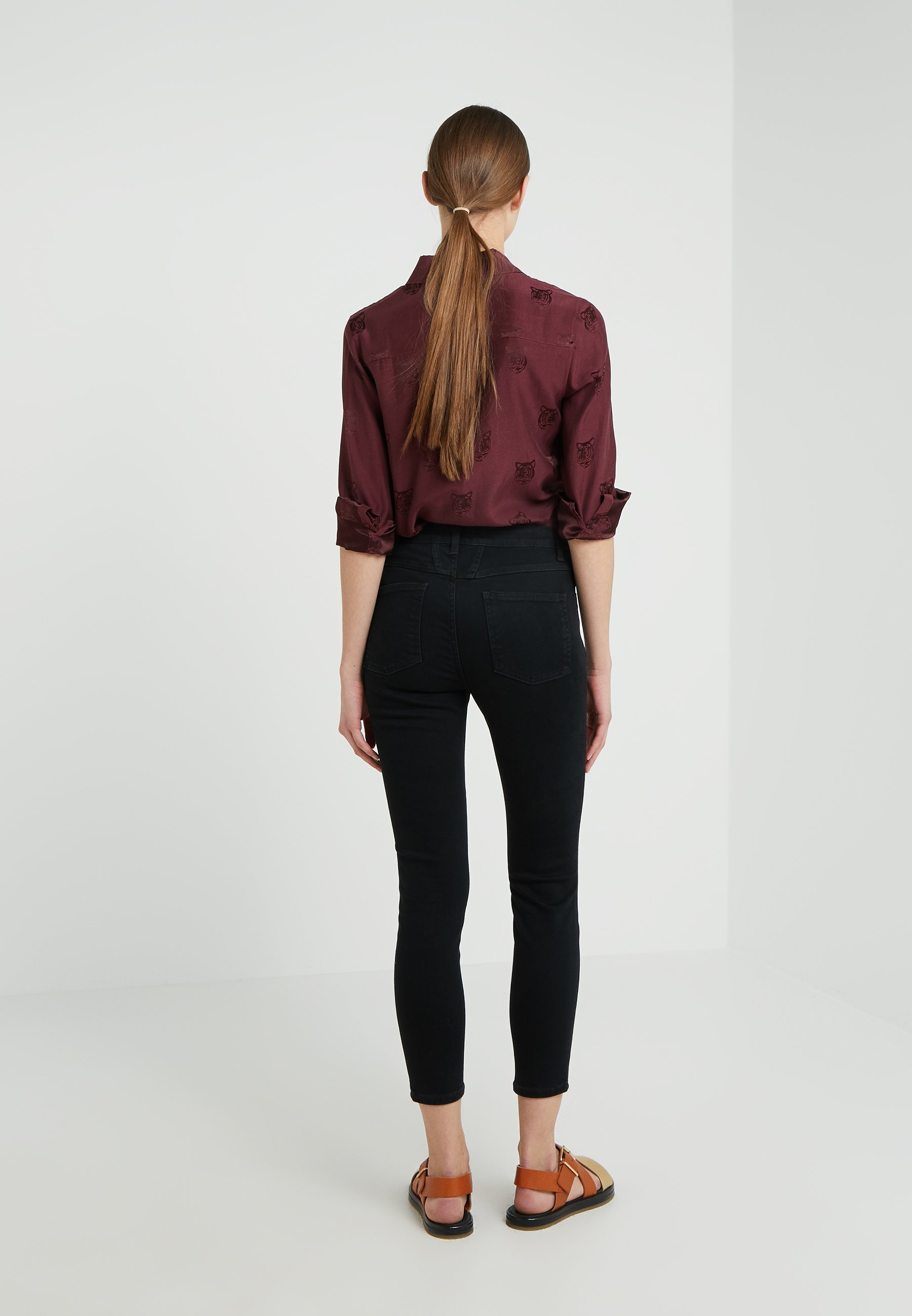 CLOSED SKINNY PUSHER - Jeansy Skinny Fit - black