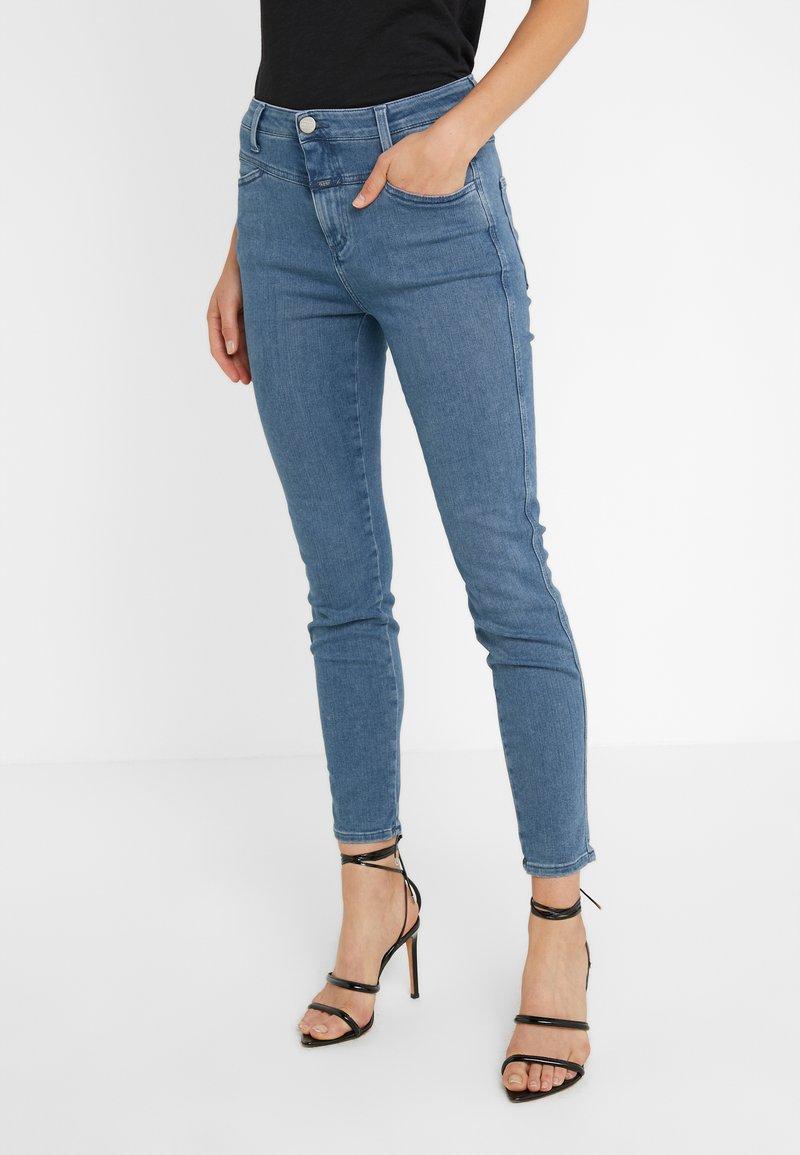 CLOSED - PUSHER - Skinny džíny - mid blue