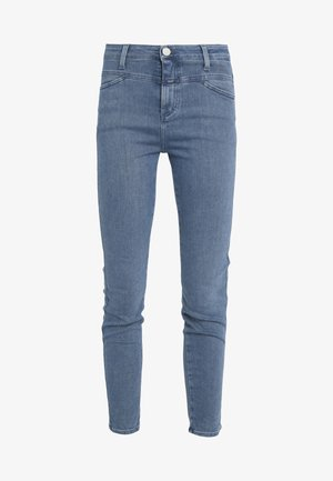 PUSHER - Jeansy Skinny Fit - mid blue
