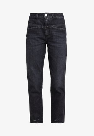 PEDAL PUSHER - Jeans baggy - dark grey