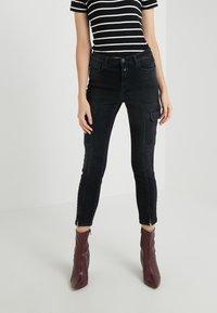 CLOSED - LOTTI - Jeans Slim Fit - black - 0