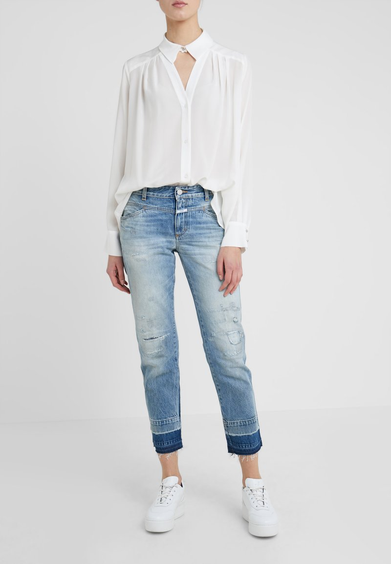 CLOSED - PEDAL QUEEN - Jeans Straight Leg - mid blue