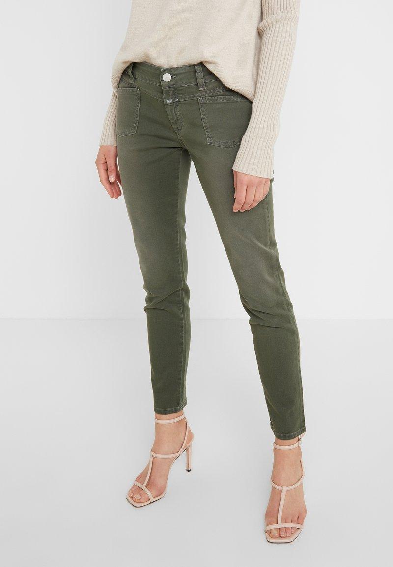 CLOSED - PEDAL - Jeans Slim Fit - caper green