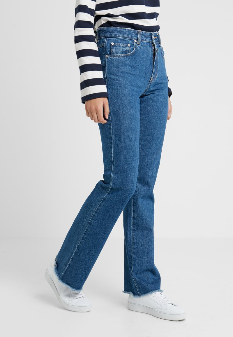 CLOSED - LEAF - Flared Jeans - mid blue