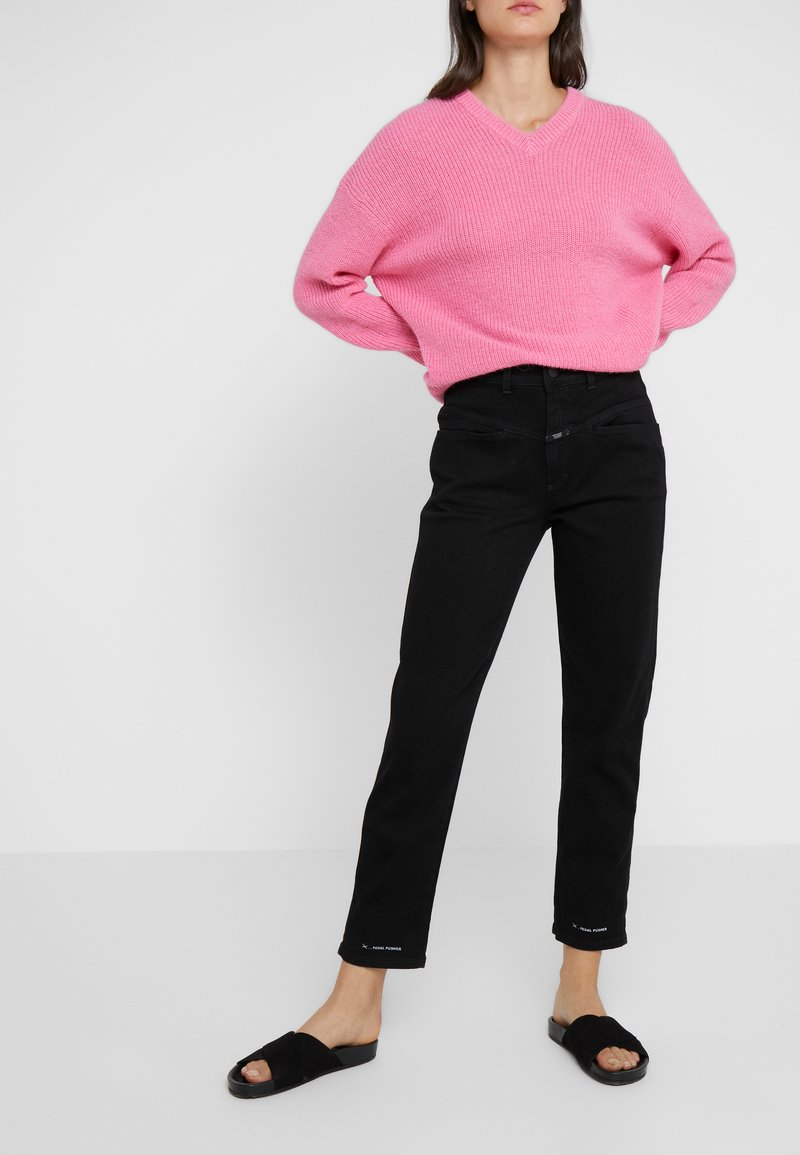 CLOSED - PEDAL PUSHER - Jeans Relaxed Fit - black