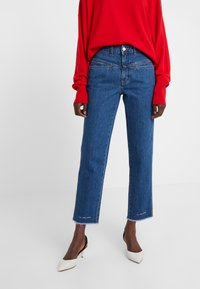 CLOSED - PEDAL PUSHER - Jeans Relaxed Fit - mid blue - 0