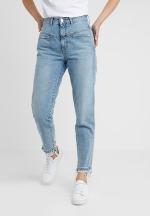 PEDAL PUSHER - Jeans Relaxed Fit - light blue