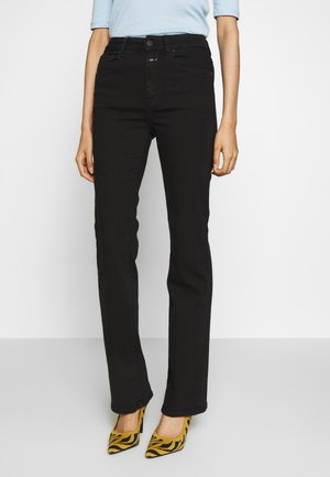 LEAF - Relaxed fit jeans - black