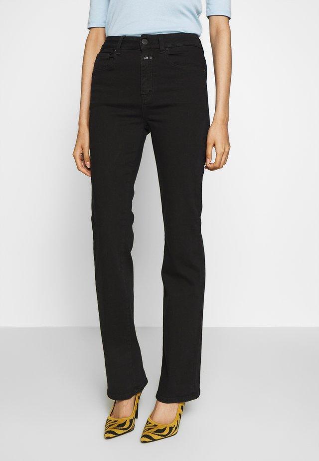 LEAF - Jeans baggy - black