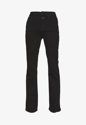 LEAF - Jeans Straight Leg - black
