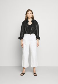 CLOSED - LEYTON - Relaxed fit jeans - ivory - 1