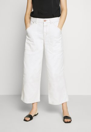 LEYTON - Jeans Relaxed Fit - ivory