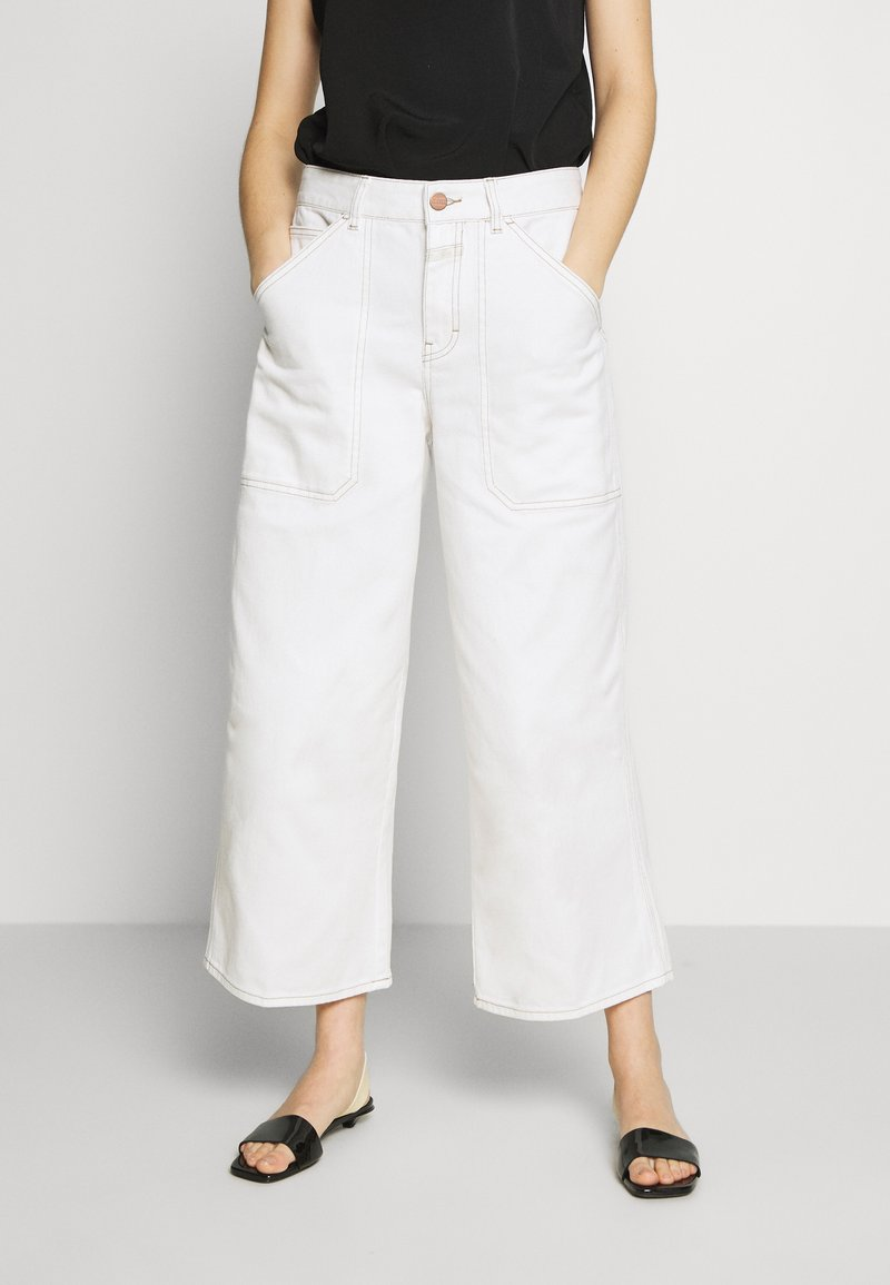 CLOSED - LEYTON - Relaxed fit jeans - ivory